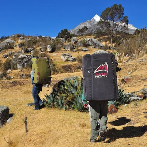 Climbing point guest house - Huaraz - Huis
