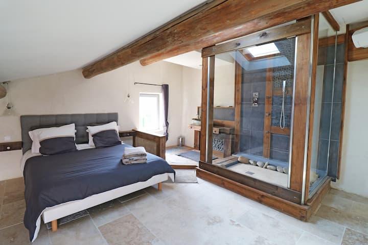 Appartement de charme sud Luberon