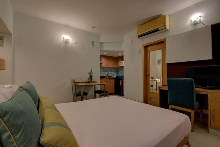 Studio room @  Service Apartments,Indiranagar
