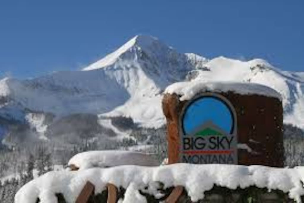 Welcome to the Big Sky!