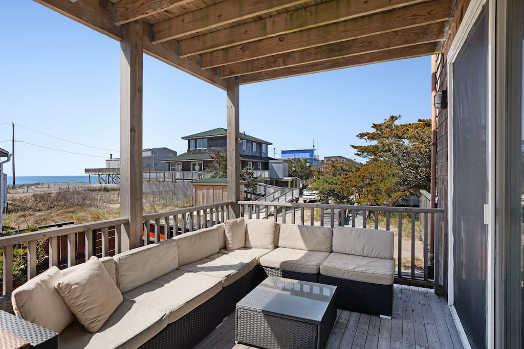 Just steps away from the beach, this home is ready for your Fire Island vacation!
