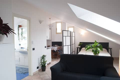 ❤️ Müsòt d'Alba – Loft Apartment + 2 bikes (free)