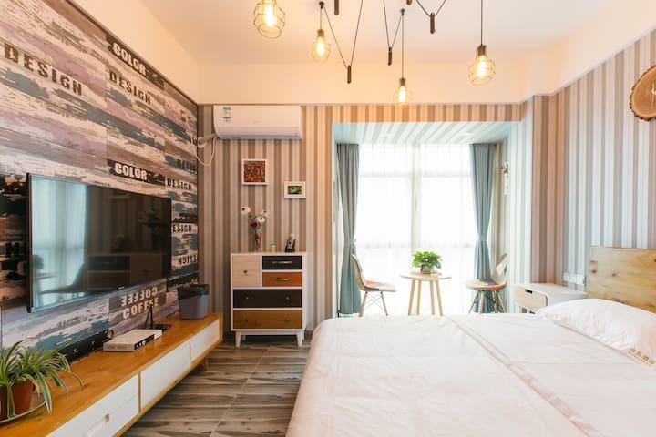 重庆早晨无敌江景大床房 - Chongqing - Apartment-Hotel