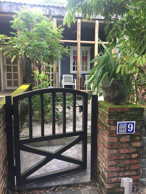 9号院子入口