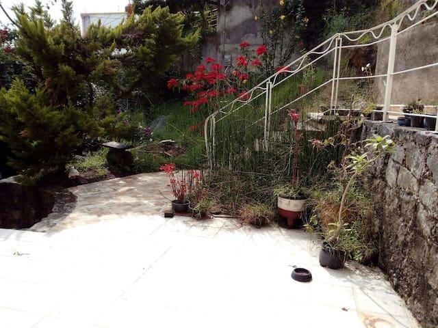Bonito Loft con vista al jardín!