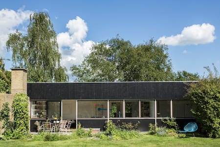 60ies villa close by lake - Farum - Huis