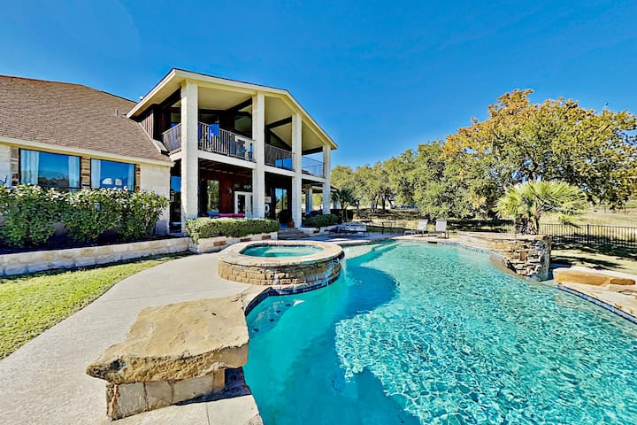 Bella Vista | Waterfront Home with Pool & Hot Tub