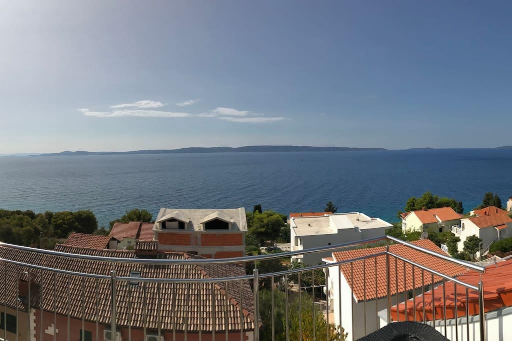 Panoramablick von der Terrasse