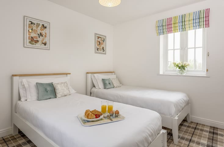 Bedroom 2 - full size twin single beds