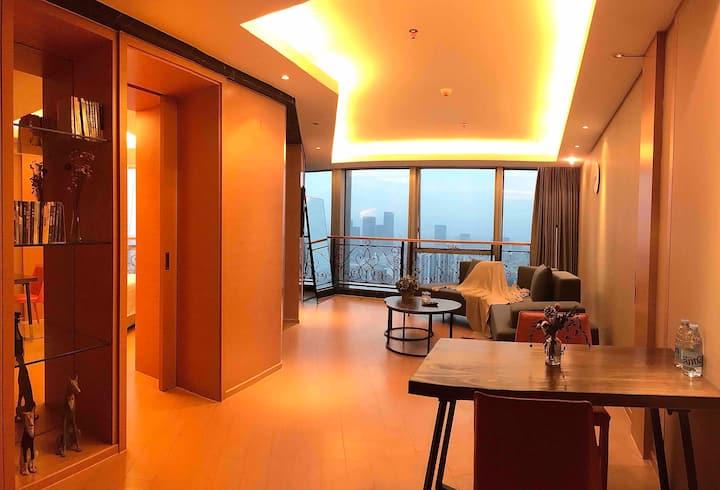 OrangeApt.「Suite」福州地标建筑|40楼高层景观|100坪精装套房