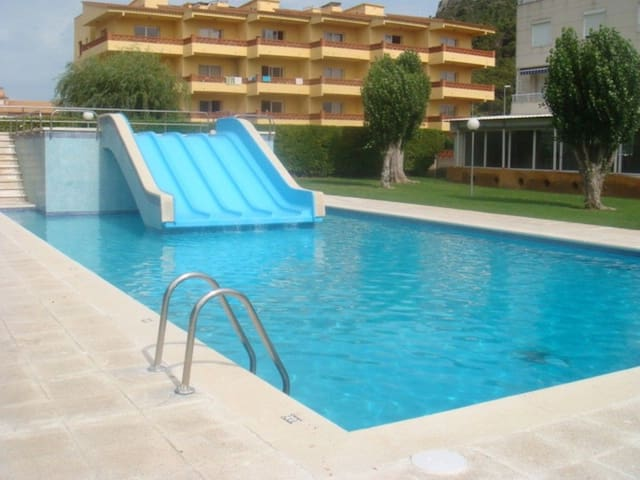 Apartment with pool 450m from the beach - Estartit (L´)