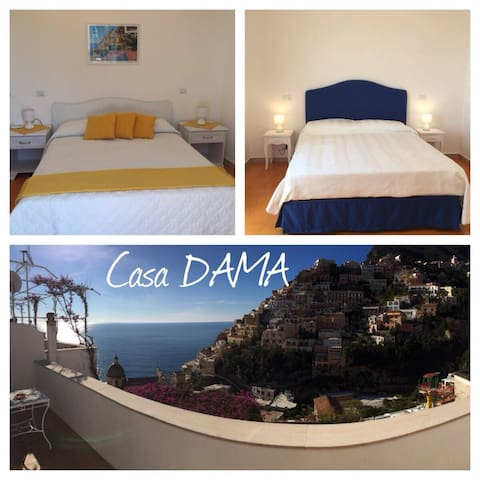 Beautiful view center Positano - Positano - Appartement