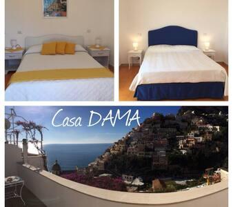 Beautiful view center Positano - Positano - Apartament