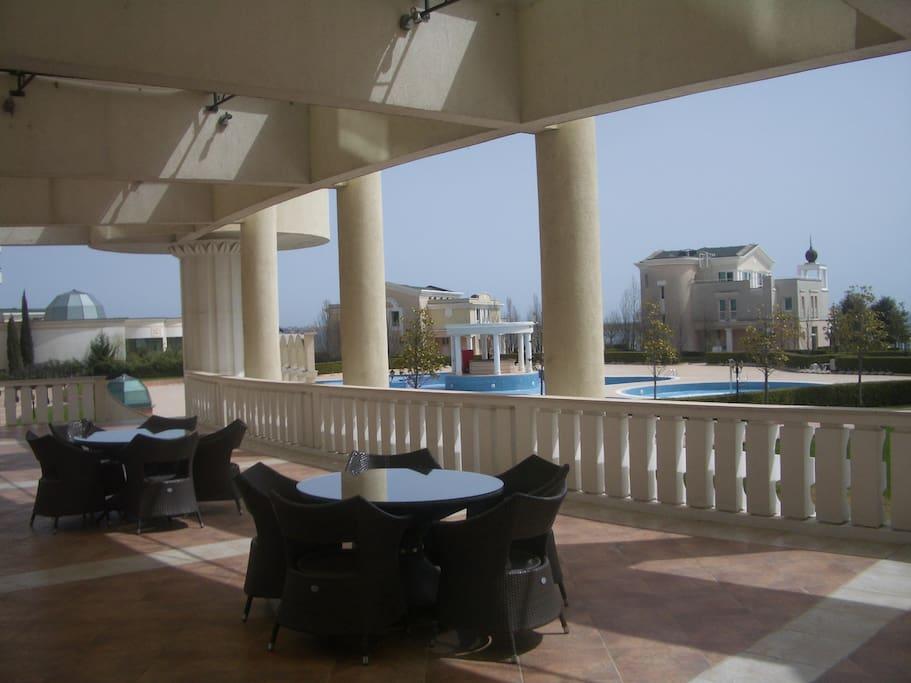 Public terrace