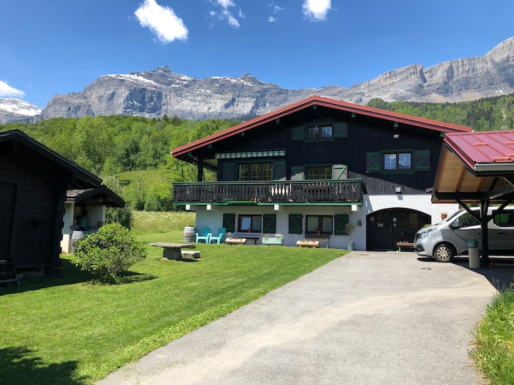 1 bed room apartment in Servoz, Chamonix.