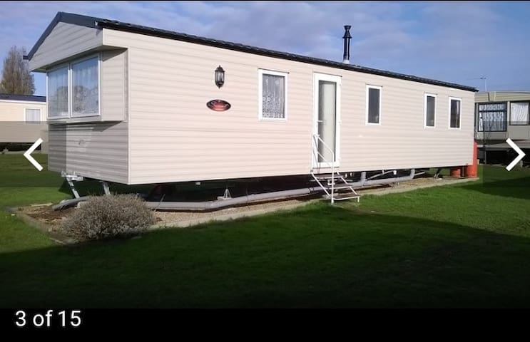 Holiday home at Cayton bay.