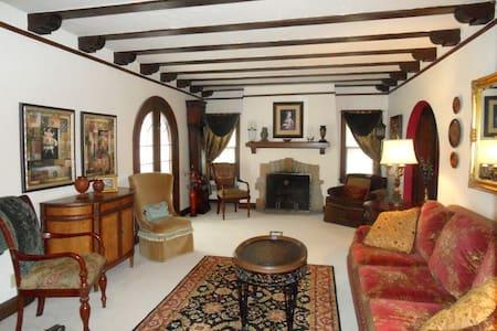 Rustic Elegance - European Tudor Home - Milwaukee