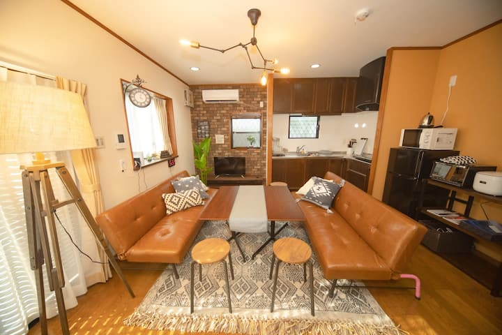 Families★Fully renovated house★6 min to station★