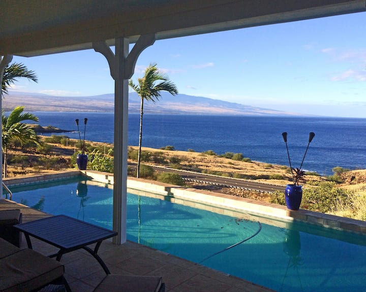 Luxury 5 star Panoramic Ocean & Volcano Mtn Views