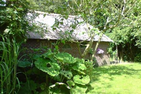 LaVendel zomerhuis met een ruime afgebakende tuin - Den Burg - กระท่อม
