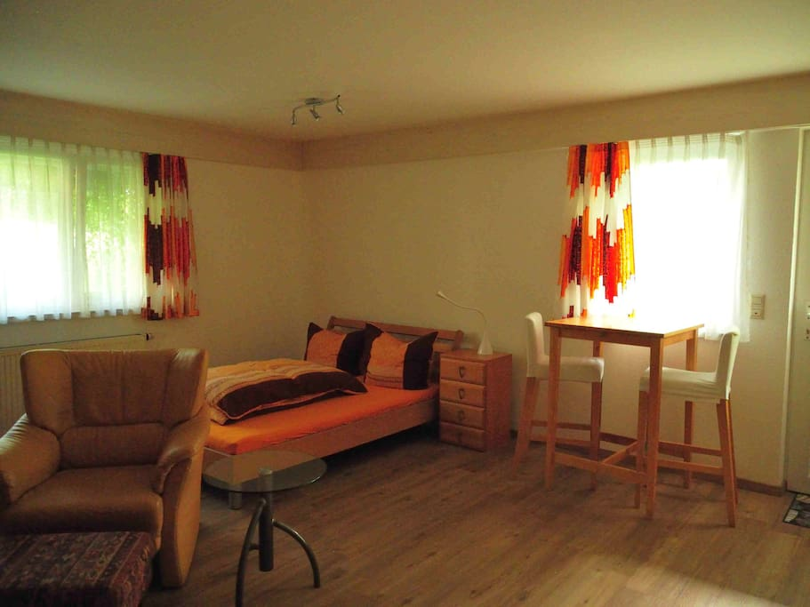 Wohnung mit französischem Bett (1,40 x 2.00)