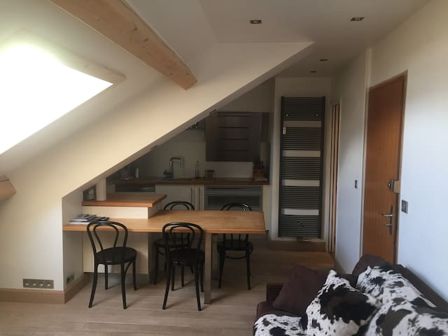 5 people - Appartement in the heart of Megeve