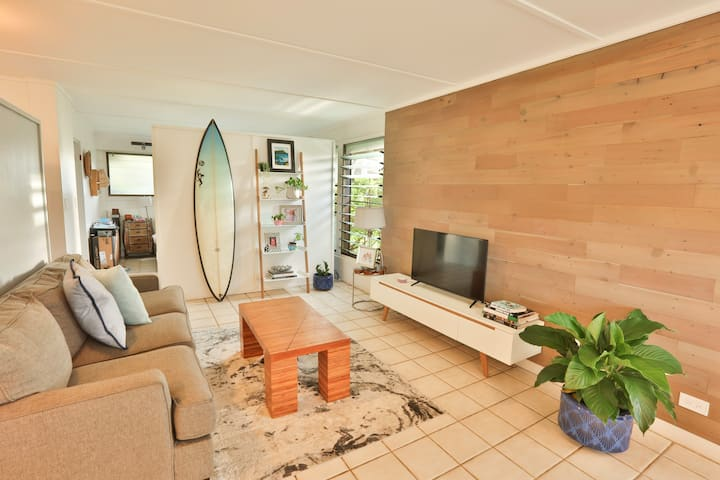 Steps from the beach, gated community condo.