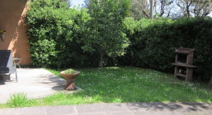La casetta di Eva a Fregene 50 mq con giardino