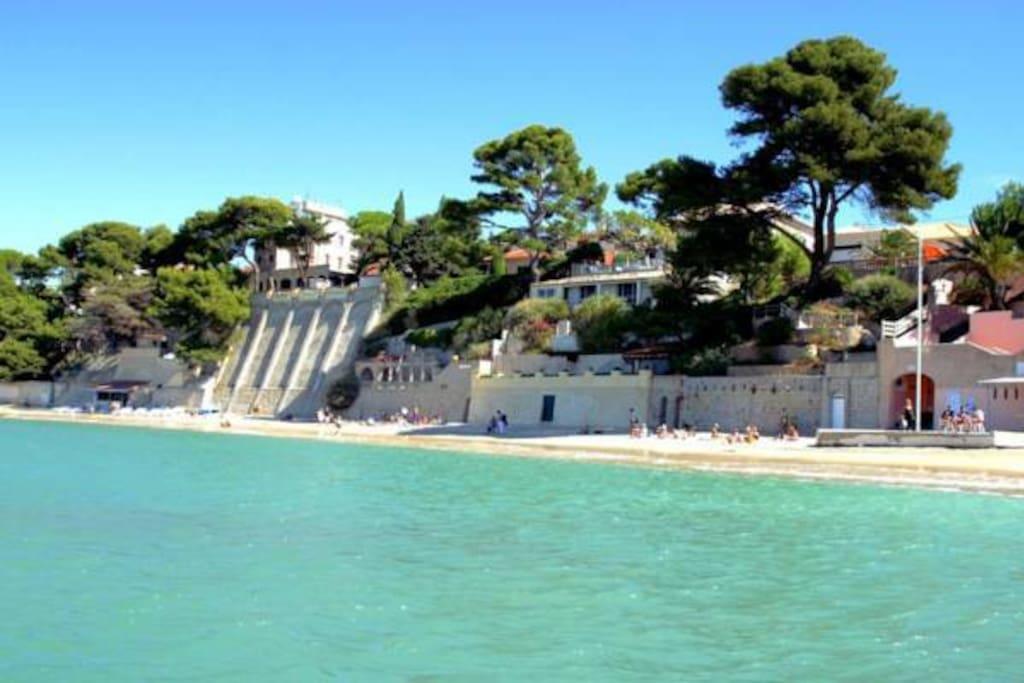 Bel Appartement Ensoleill 233 Avec Vue Mer Wohnungen Zur Miete In Bandol Provence Alpes C 244 Te D