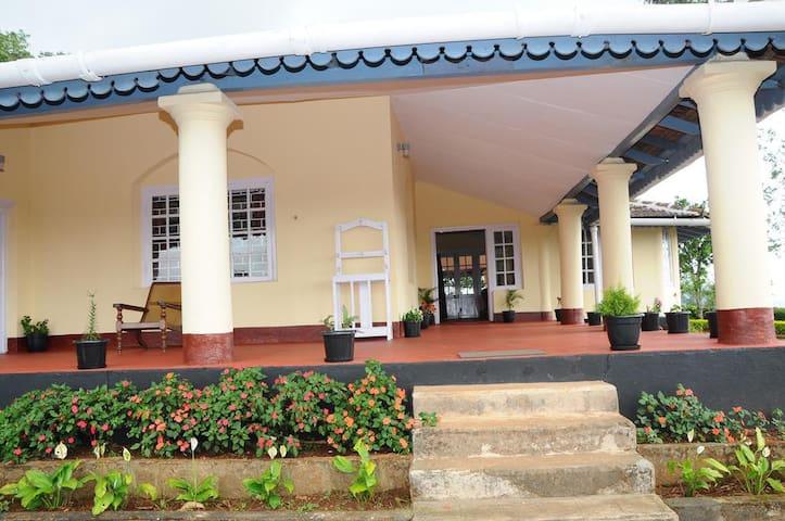 Junior suite in a heritage plantation bungalow