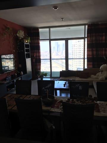 Furnished 2 bedroom plus Maids room