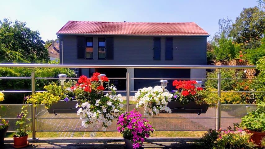 Gite avec garage et jardin 4 pers. à Colmar