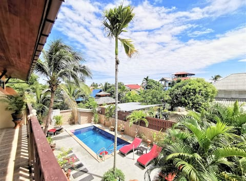 ⭐⭐⭐⭐⭐La SIRENE 2BR APARTMENT IDEALLY LOCATED IN SAMUI, TERRACE AND POOL !