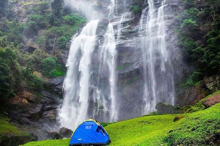 Beauty of water in mountains