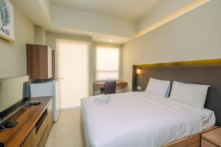 Comfortable Studio Apt at Mustika Golf Residence