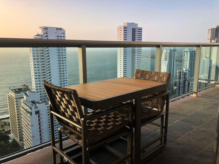 33 floor 3 Bedroom Modern Apartment -Amazing View