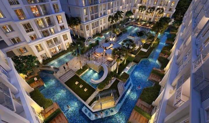 The orient resort and spa 2nd floor pool view