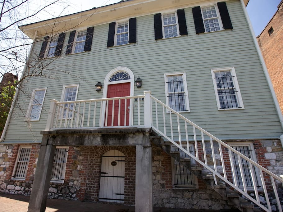 Habersham Exterior - Just Steps from River Street