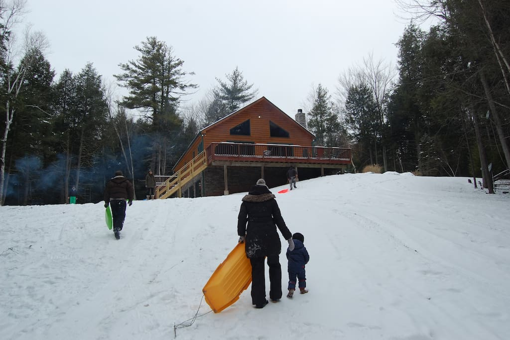 Great area for sledding