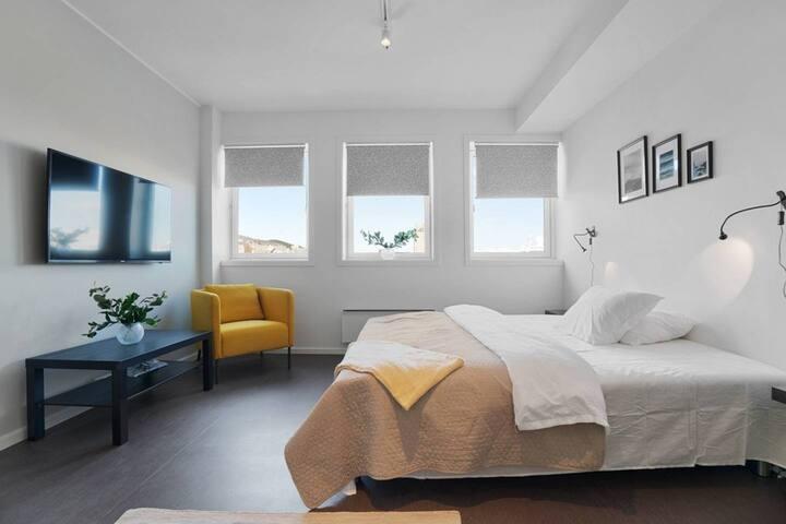 Brand new studio apartments in Tromsø centre! Ap 4