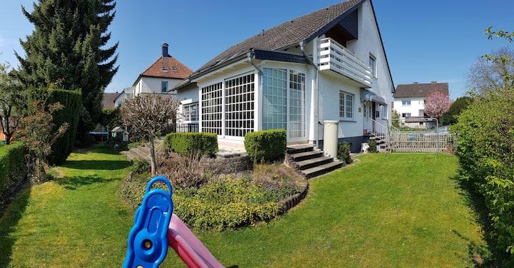 Ferienhaus mit Freizeit-/Wellnessangebot inklusive