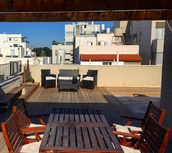 Hip Rooftop Apt On Rotchild - Tel Aviv-Yafo