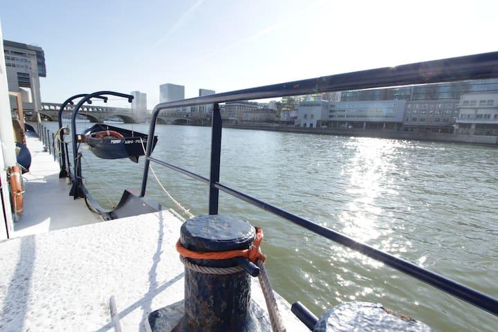 Vivre sur l'eau au cœur de paris