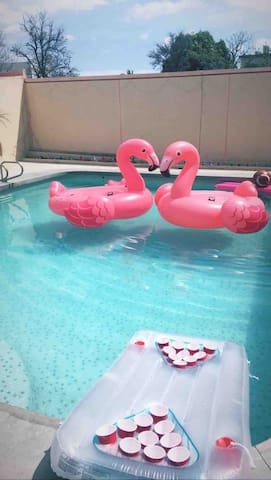 Private Room w/ AirCon & Pool Access! #2