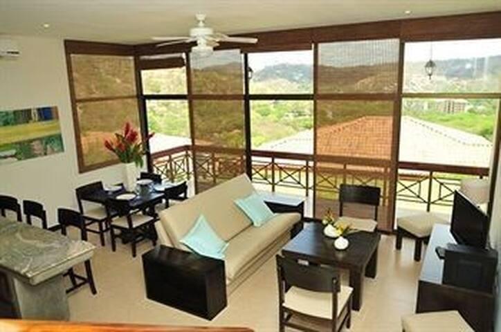 Villa con Vista al mar - Playa Hermosa - Apartment