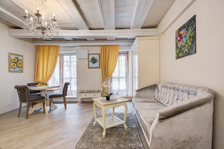 Vilnius old town romantic apartment
