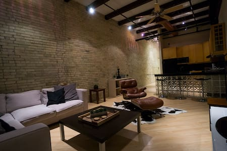 Exchange district loft - Winnipeg - Condominium