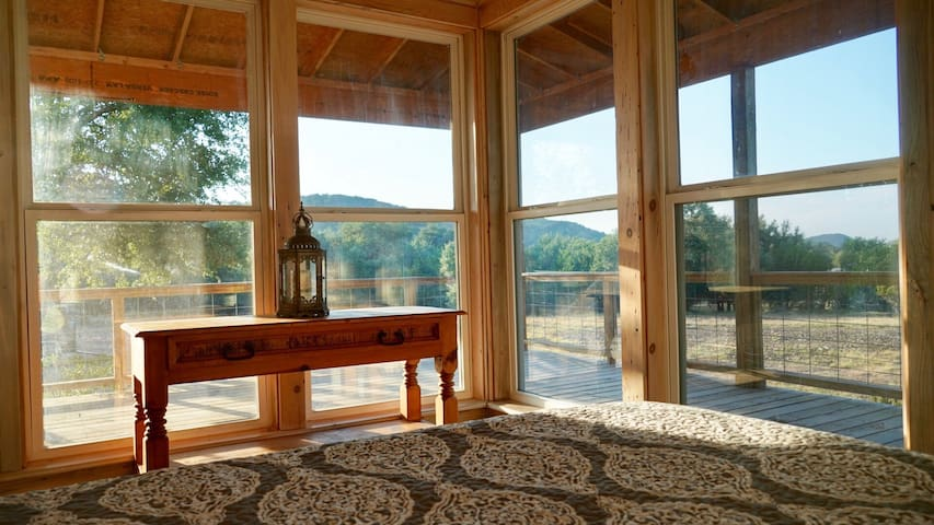 Wake up and enjoy this view of the Hill Country from the front bedroom!