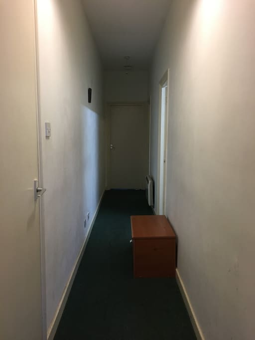 Corridor between rooms