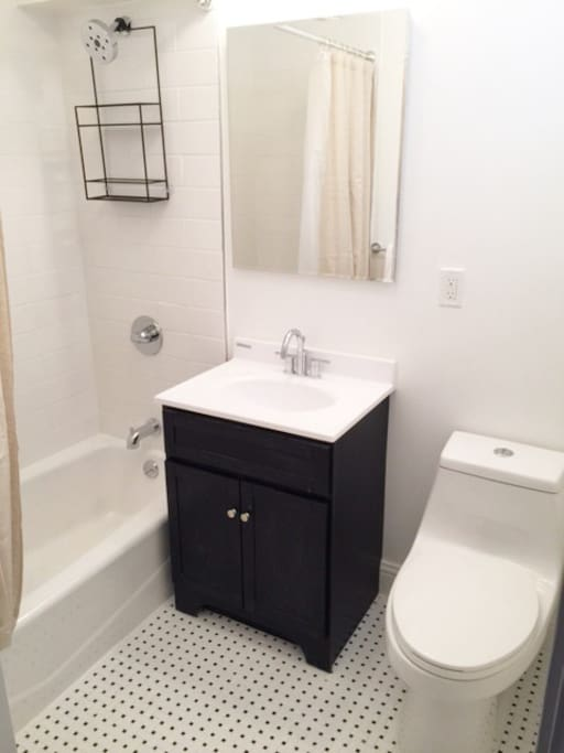 Private remodeled bathroom